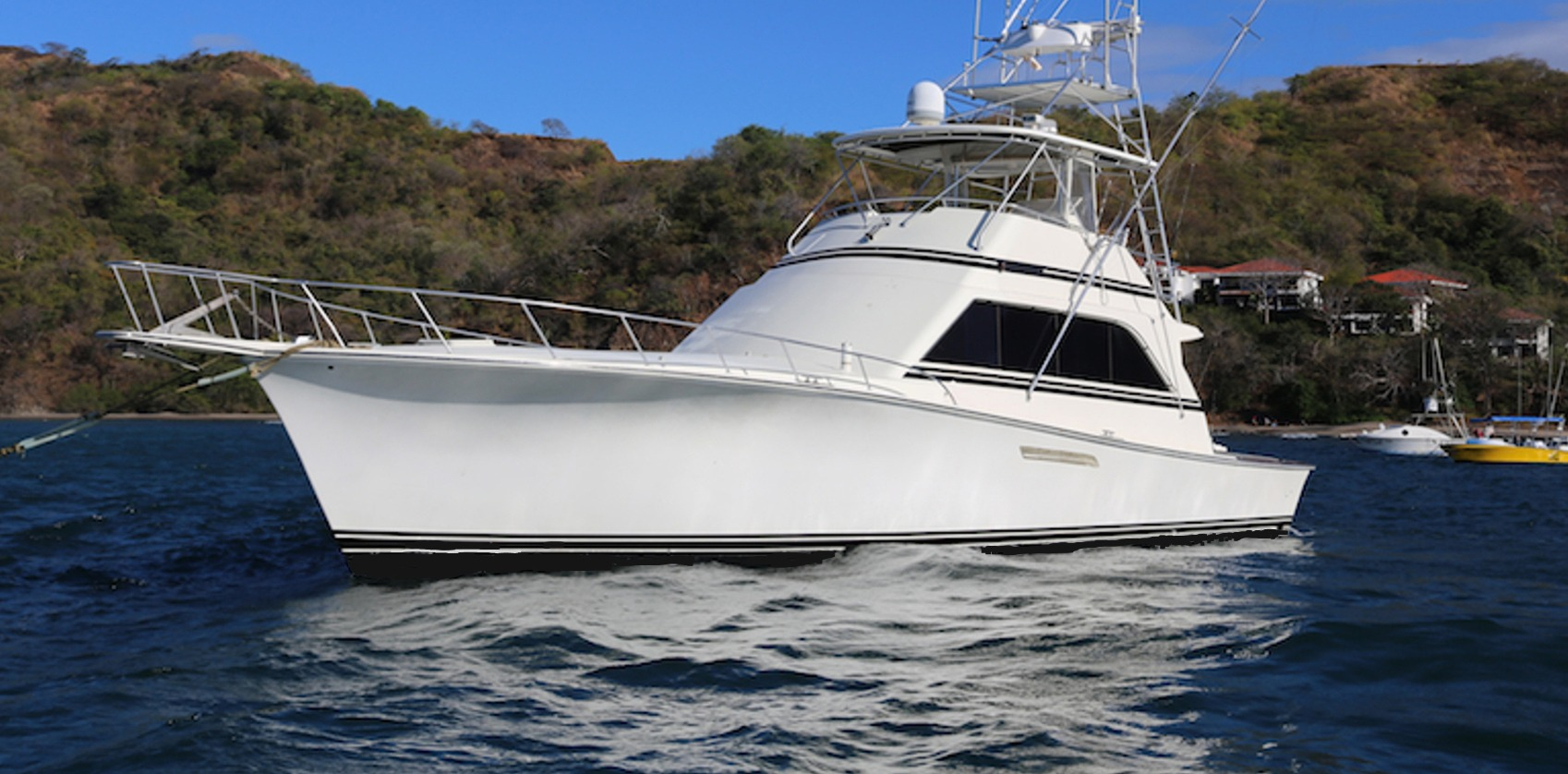 Come aboard your charter boat costa rica fishing charters for Costa rica fishing charters