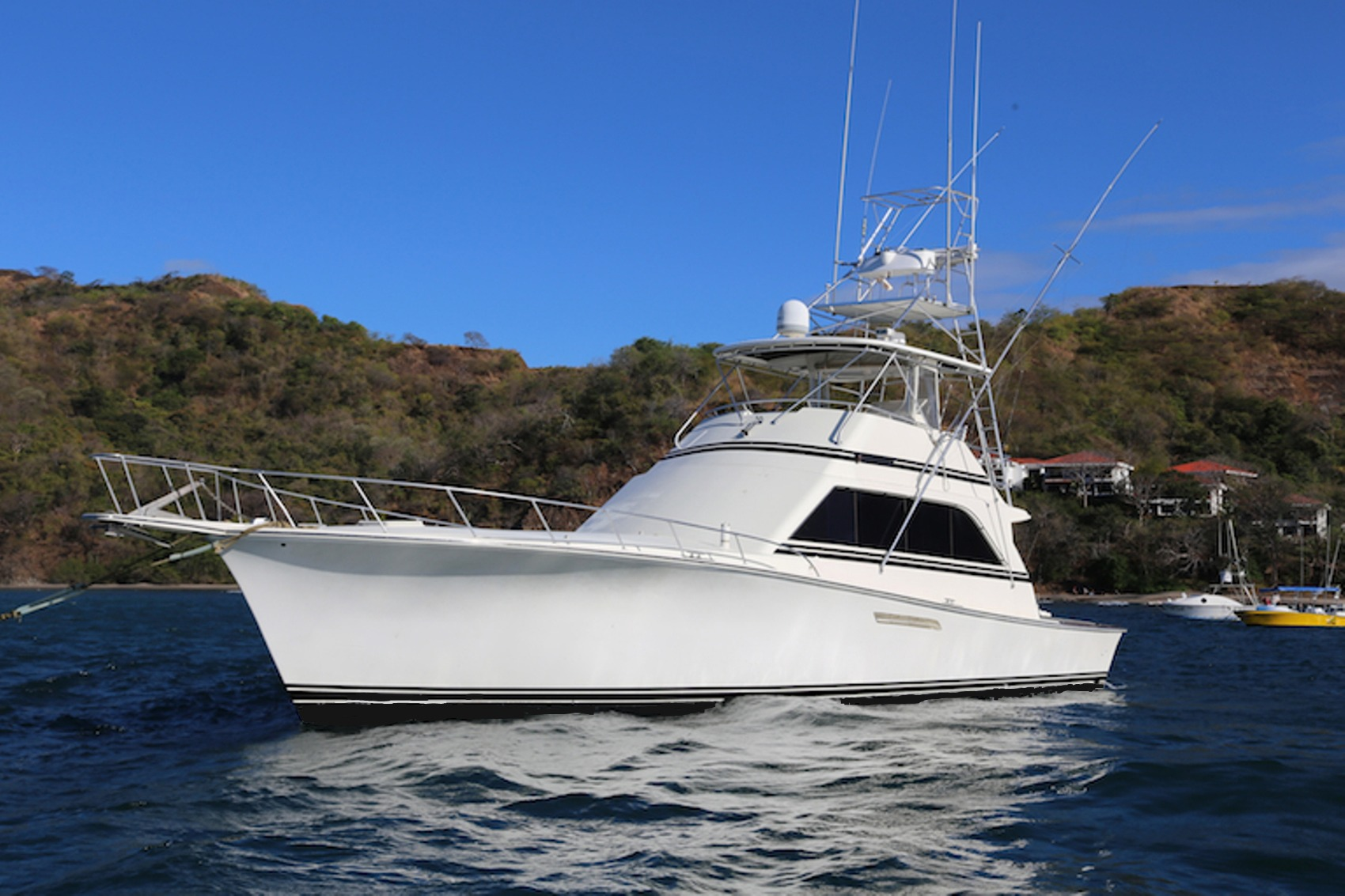 Executive package costa rica fishing charters for Costa rica fishing charters