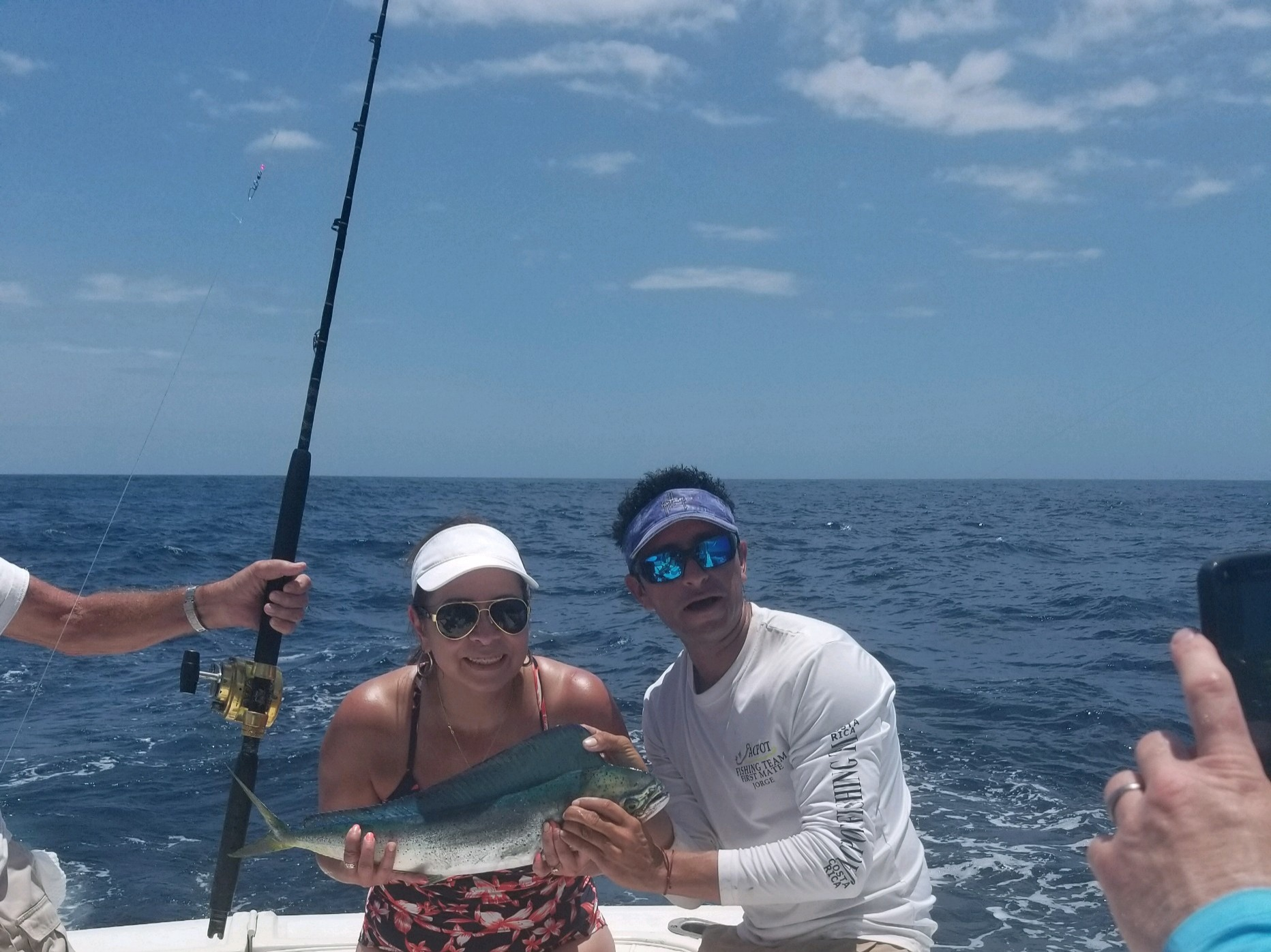 beautiful mahimahi  costa rica fishing charters